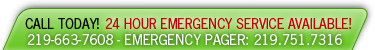 Call Us Today - 24 Hour Emergency Service Available!